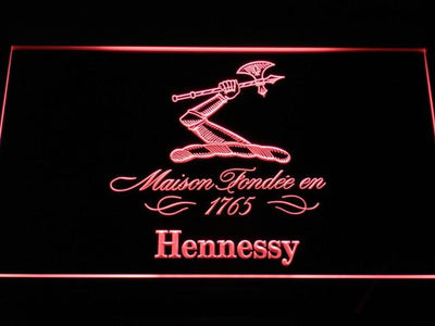 Hennessy LED Neon Sign - Red - SafeSpecial