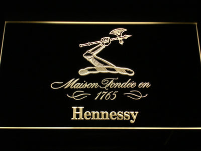 Hennessy LED Neon Sign - Yellow - SafeSpecial