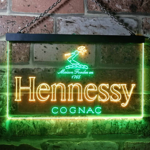 Image of Hennessy Logo 1 Neon-Like LED Sign - Dual Color