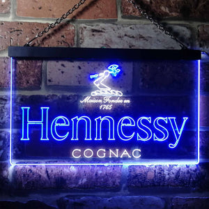 Hennessy Logo 1 Neon-Like LED Sign - Dual Color