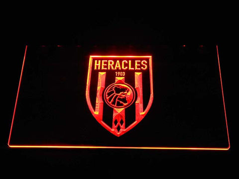 Heracles LED Neon Sign - Orange - SafeSpecial