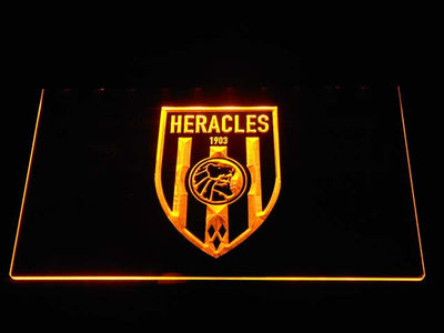 Heracles LED Neon Sign - Yellow - SafeSpecial