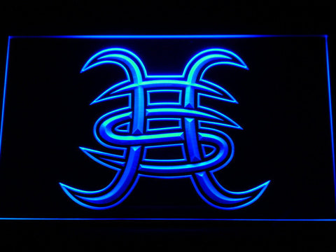 Heroes Del Silencio LED Neon Sign - Blue - SafeSpecial