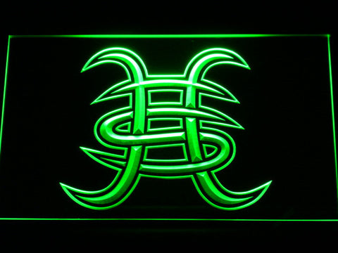 Heroes Del Silencio LED Neon Sign - Green - SafeSpecial