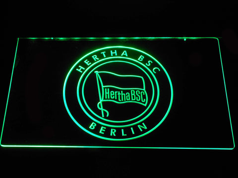 Hertha BSC LED Neon Sign - Green - SafeSpecial