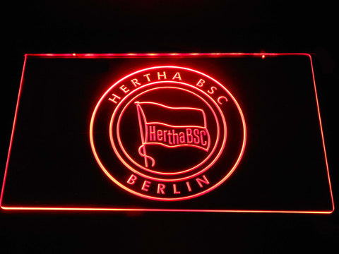 Hertha BSC LED Neon Sign - Red - SafeSpecial