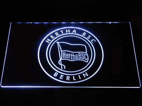 Hertha BSC LED Neon Sign - White - SafeSpecial