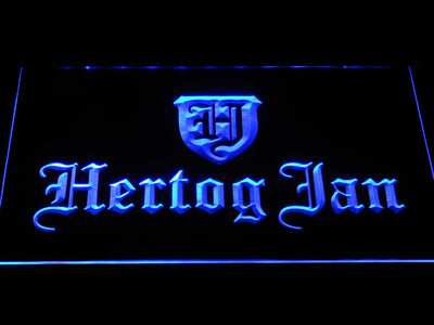 Hertog Jan LED Neon Sign - Blue - SafeSpecial