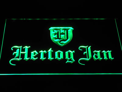 Hertog Jan LED Neon Sign - Green - SafeSpecial