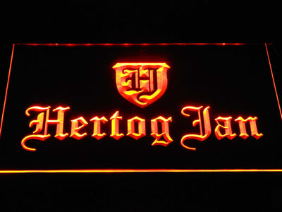 Hertog Jan LED Neon Sign - Orange - SafeSpecial