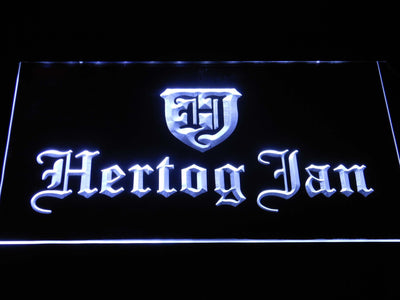 Hertog Jan LED Neon Sign - White - SafeSpecial