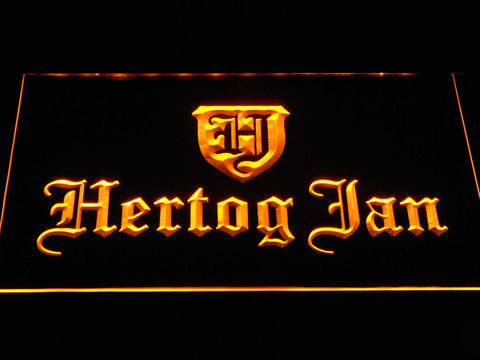Image of Hertog Jan LED Neon Sign - Yellow - SafeSpecial