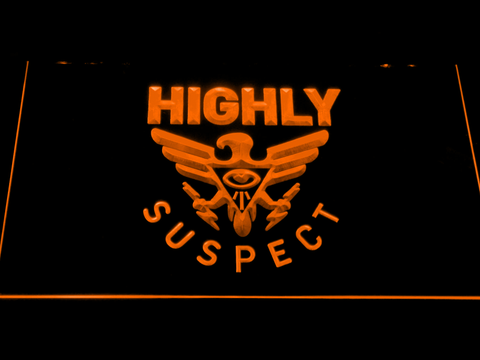 Highly Suspect LED Neon Sign - Orange - SafeSpecial