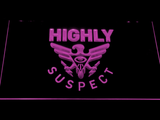 Highly Suspect LED Neon Sign - Purple - SafeSpecial