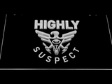 Highly Suspect LED Neon Sign - White - SafeSpecial