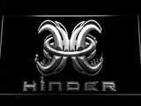 Hinder LED Neon Sign - White - SafeSpecial