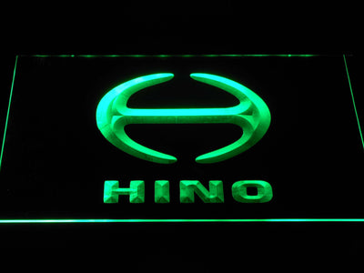 Hino LED Neon Sign - Green - SafeSpecial