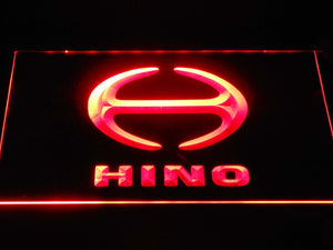 Hino LED Neon Sign - Red - SafeSpecial