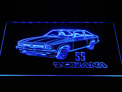 Holden Torana SS LED Neon Sign - Blue - SafeSpecial