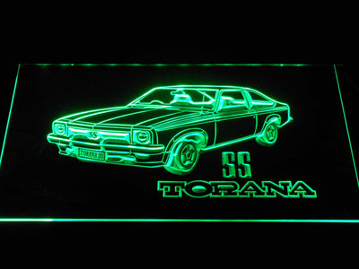Holden Torana SS LED Neon Sign - Green - SafeSpecial