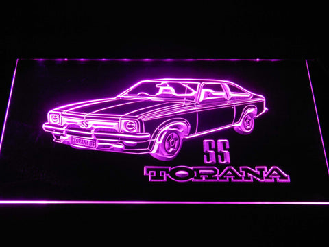 Image of Holden Torana SS LED Neon Sign - Purple - SafeSpecial