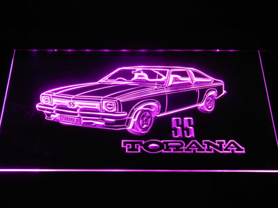 Holden Torana SS LED Neon Sign - Purple - SafeSpecial