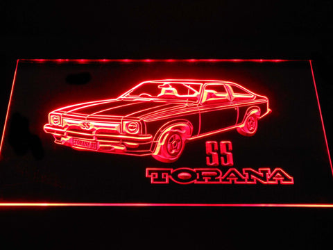Image of Holden Torana SS LED Neon Sign - Red - SafeSpecial