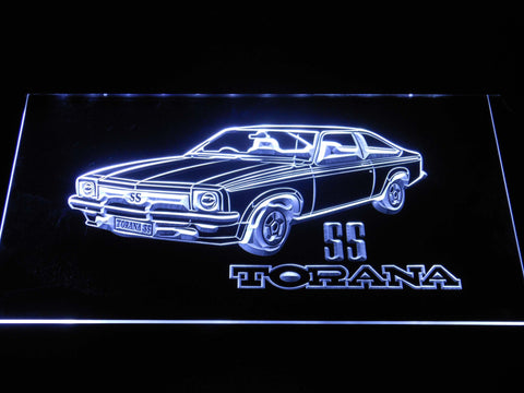 Image of Holden Torana SS LED Neon Sign - White - SafeSpecial