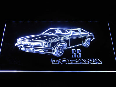 Holden Torana SS LED Neon Sign - White - SafeSpecial