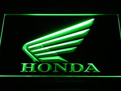 Honda LED Neon Sign - Green - SafeSpecial