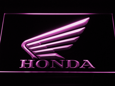 Honda LED Neon Sign - Purple - SafeSpecial