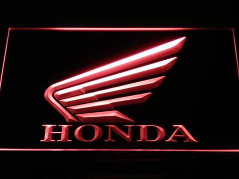 Image of Honda LED Neon Sign - Red - SafeSpecial