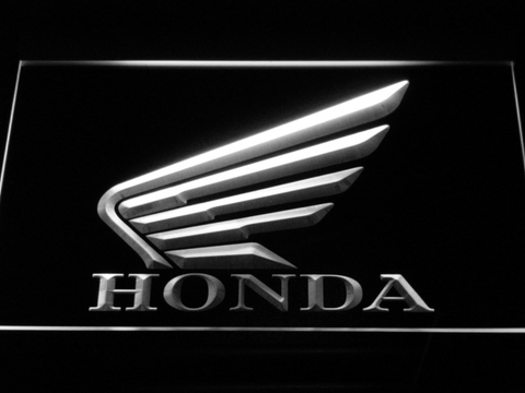Image of Honda LED Neon Sign - White - SafeSpecial