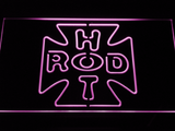 Hot Rod Garage 2 LED Neon Sign - Purple - SafeSpecial