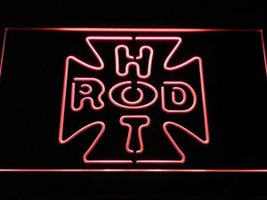 Hot Rod Garage 2 LED Neon Sign - Red - SafeSpecial