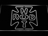 Hot Rod Garage 2 LED Neon Sign - White - SafeSpecial