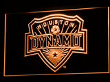 Houston Dynamo LED Neon Sign - Orange - SafeSpecial