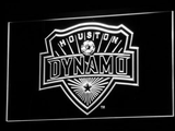 Houston Dynamo LED Neon Sign - White - SafeSpecial