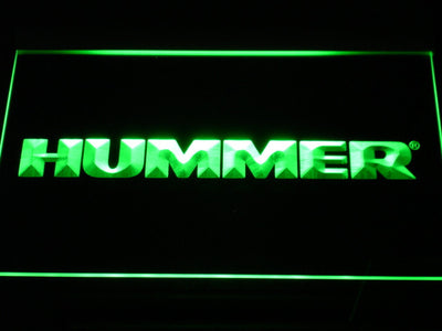 Hummer LED Neon Sign - Green - SafeSpecial