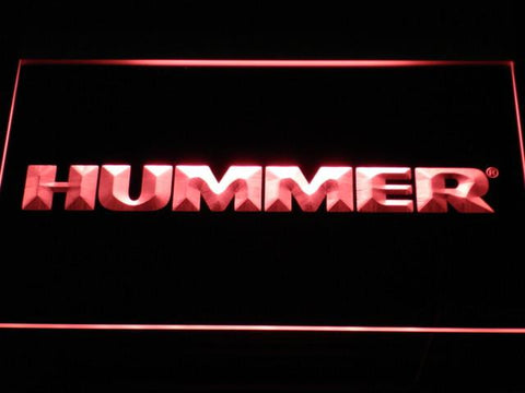 Image of Hummer LED Neon Sign - Red - SafeSpecial