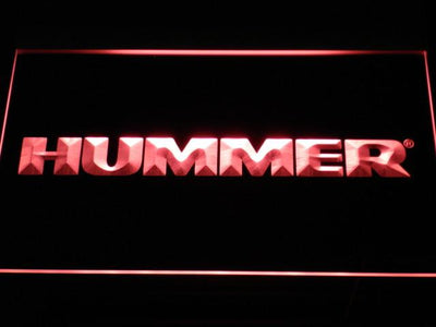 Hummer LED Neon Sign - Red - SafeSpecial