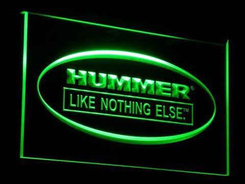 Image of Hummer Like Nothing Else LED Neon Sign - Green - SafeSpecial