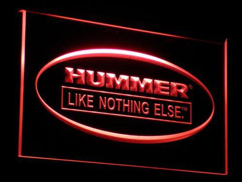 Image of Hummer Like Nothing Else LED Neon Sign - Red - SafeSpecial