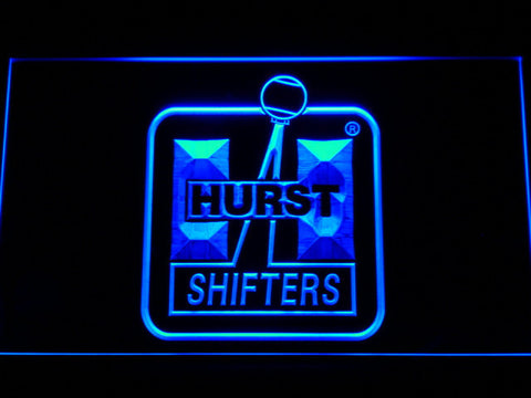Hurst LED Neon Sign - Blue - SafeSpecial