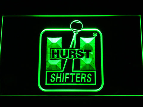 Hurst LED Neon Sign - Green - SafeSpecial