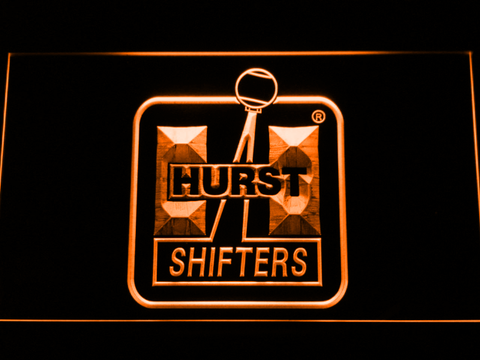 Image of Hurst LED Neon Sign - Orange - SafeSpecial