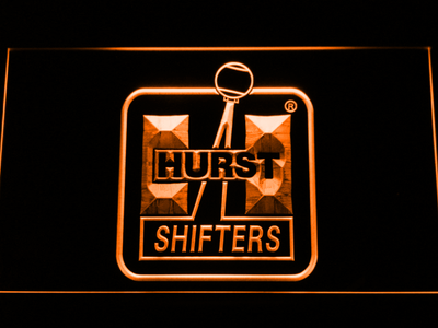 Hurst LED Neon Sign - Orange - SafeSpecial