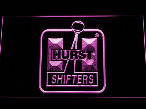 Hurst LED Neon Sign - Purple - SafeSpecial