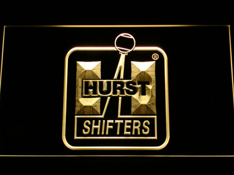 Hurst LED Neon Sign - Yellow - SafeSpecial
