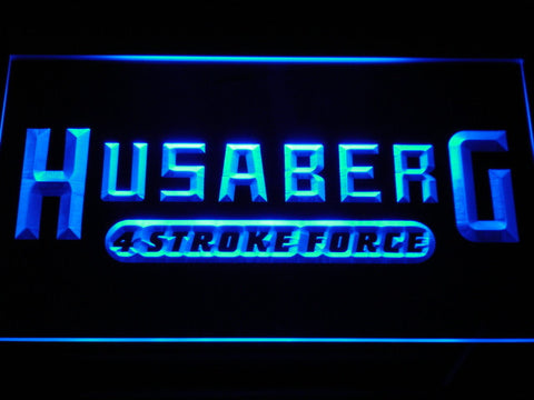 Image of Husaberg LED Neon Sign - Blue - SafeSpecial